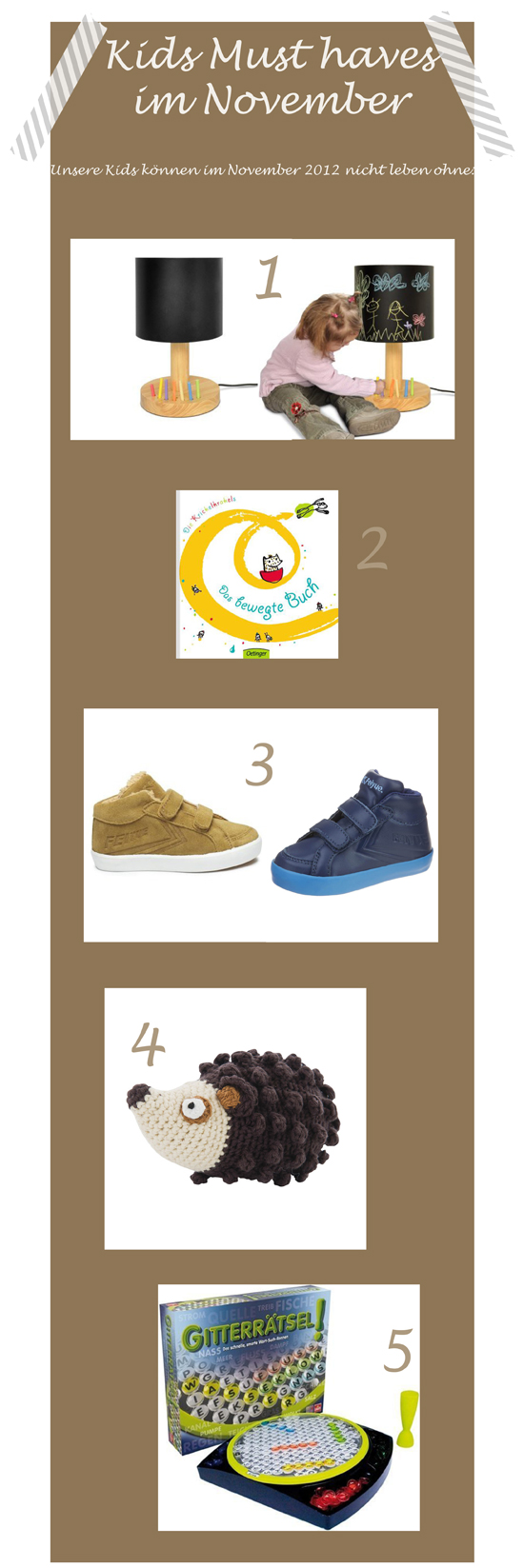 Kids Must haves November