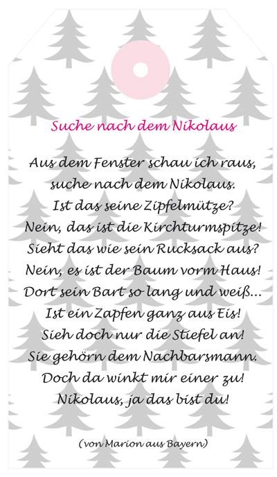 Brief Für Nikolaus : Nikolaus rosaundlimone