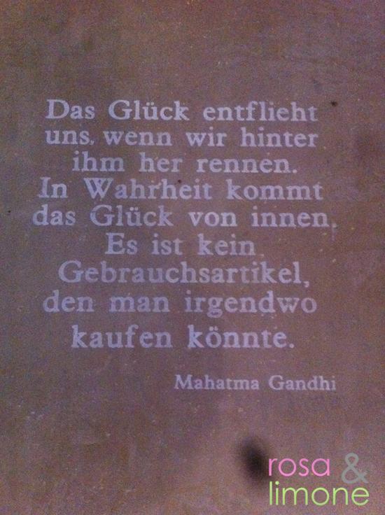 Gandhi-Spruch
