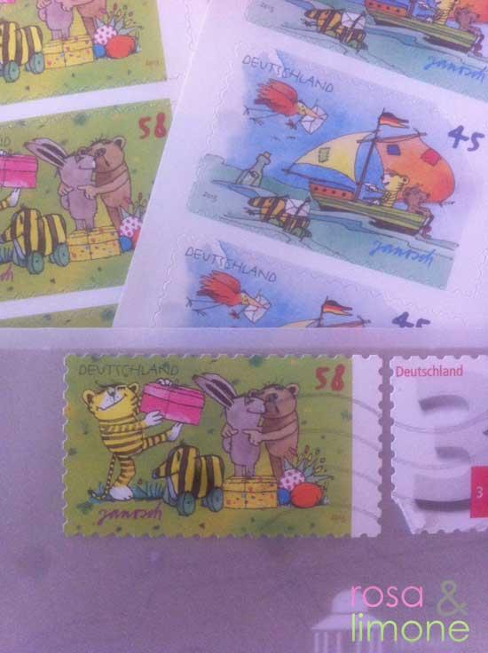 Janosch-Briefmarken