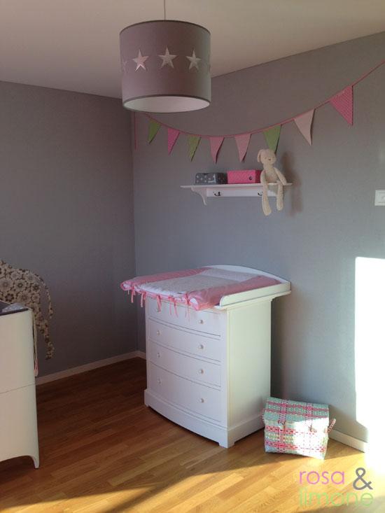 Kinderzimmer-Wickelkommode-rosa&limone