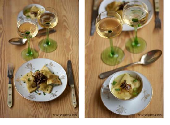 Maultaschen-gedeckter-Tisch-rosa&limone