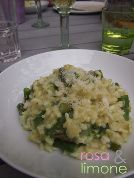 Spargelrisotto-rosa&limone