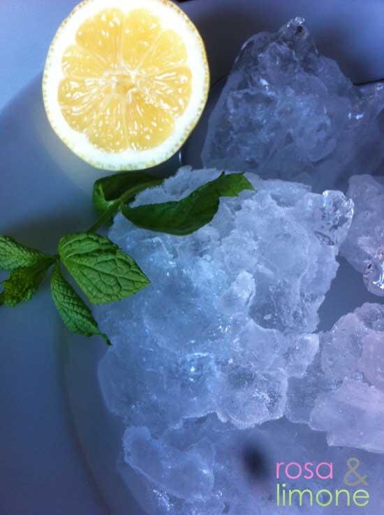 Eis-für-Cocktail-rosa&limone