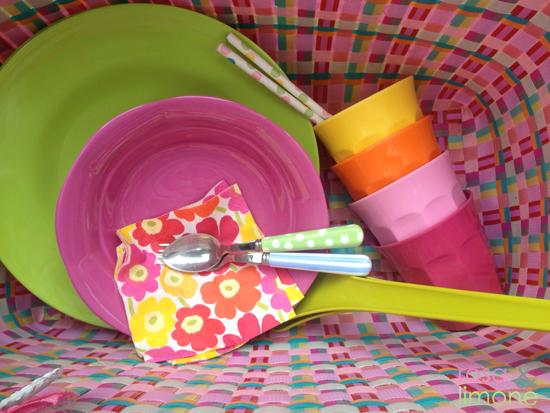 Picknick-rosa&LIMONE