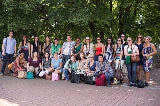 Sommerbloggertreffen-Ulm-Gruppenbild