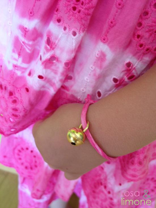 Armbändel-Lina-rosa&limone