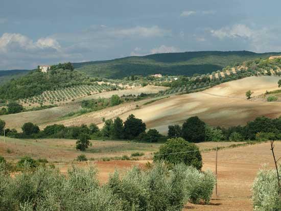 Toskana-Landschaft