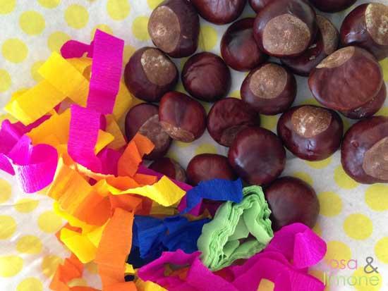Kastanien-Wurfgeschoss-rosa&limone
