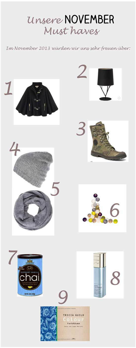 November-Must-haves