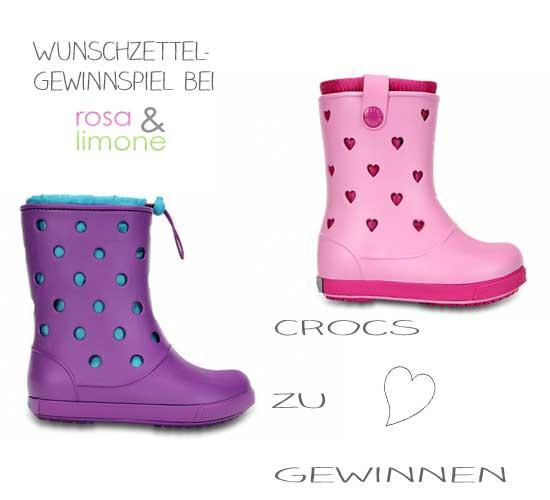 Crocs-Gewinnspiel-rosa&limone
