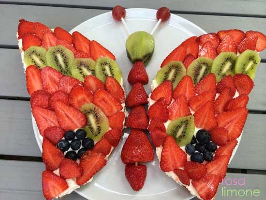 Schmetterlingsgeburtstagskuchen-rosa&limone