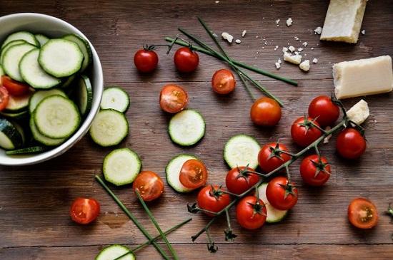 Zucchini-Frittata Zutaten