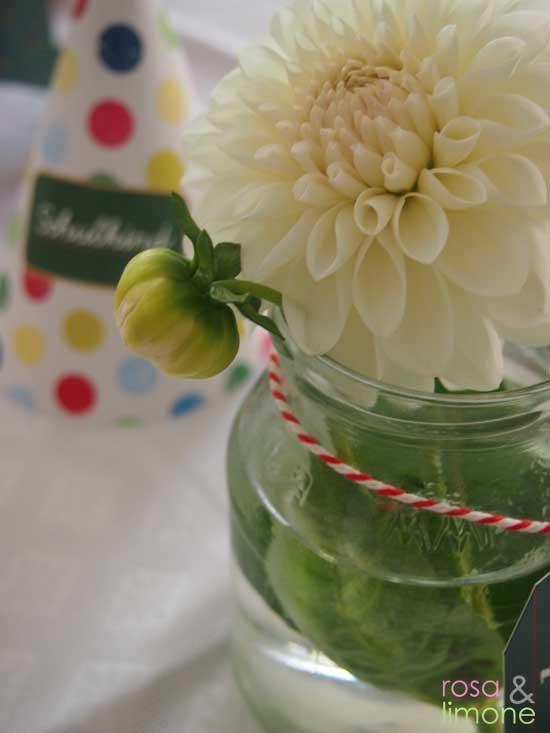 Einschulungsfeier-Louisa-Deko-Blume-rosaundlimone
