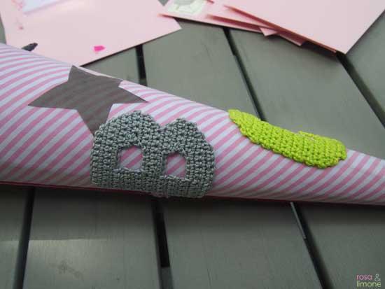 Schultüte-Buchstaben-Einschulung-rosaundlimone