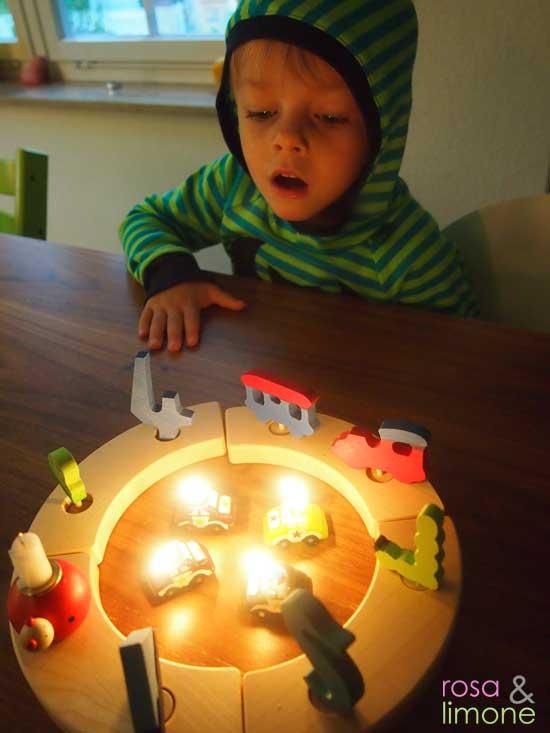 Kerzen-auspusten