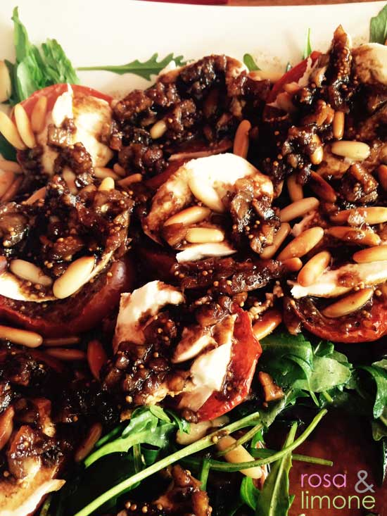 Tomaten-Feigen-Mozzarella-rosaundlimone