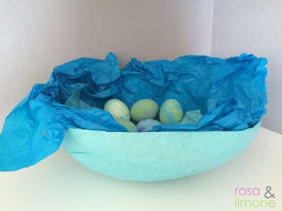 Osternest-aus-Pappmache-rosaundlimone