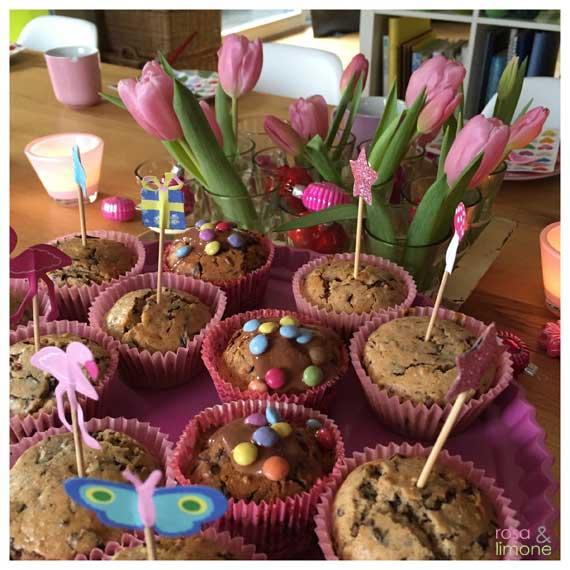 Kindergeburtstagsdeko-Tisch2-rosaundlimone