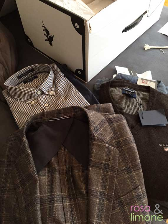Outfittery-Box-ausgepackt