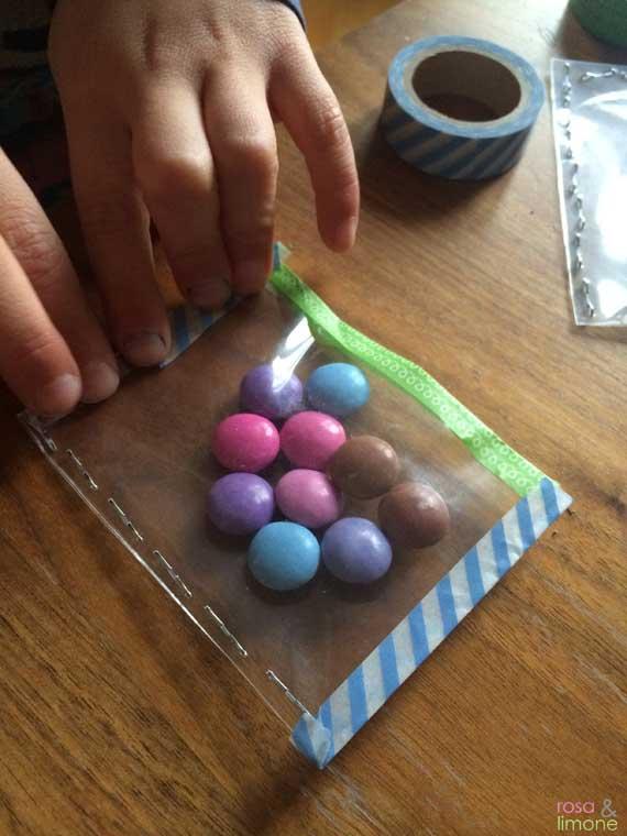 Heissluftballon-Kindergeburtstagseinladung-Junge-rosaundlimone-Korb