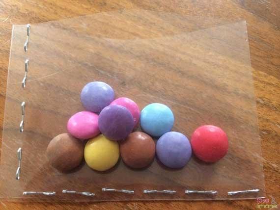 Heissluftballon-Kindergeburtstagseinladung-Junge-rosaundlimone-Tuete
