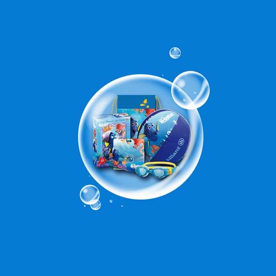 Verlosung-Schwimmkampagne