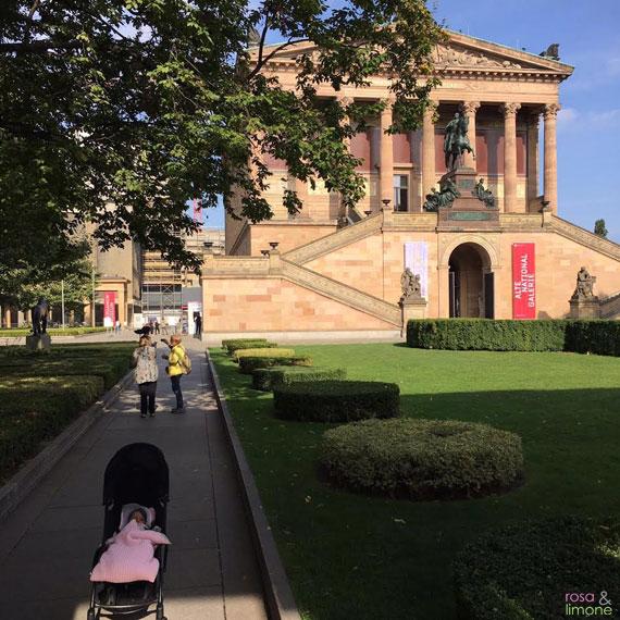 Museumsgarten Berlin mit Baby
