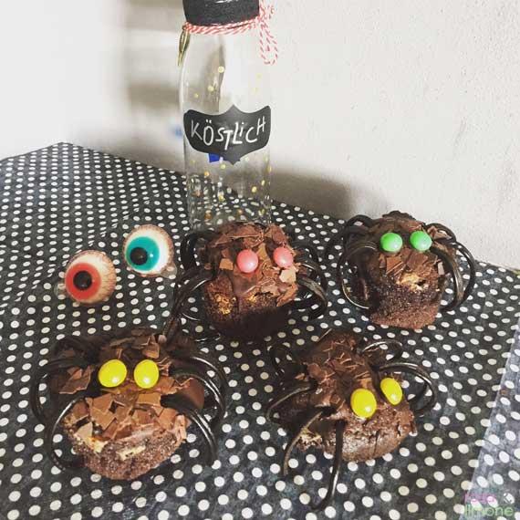 Halloween Spidermuffins
