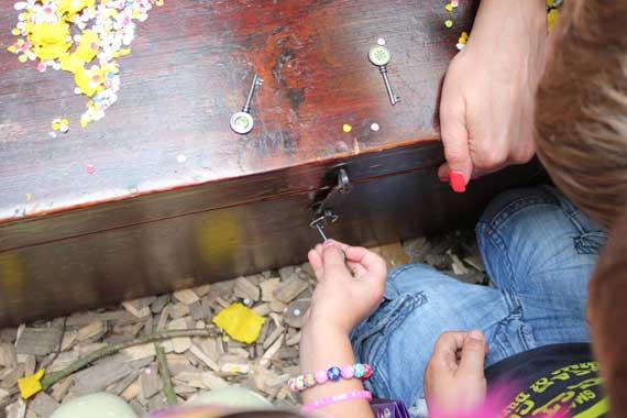 Kindergeburtstag-Schatz