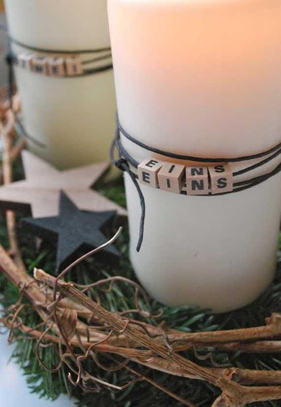 Buchstabenwuerfel-Adventskranz