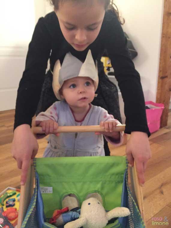 Carlottas-Geburtsstagsparty-Laufwagen