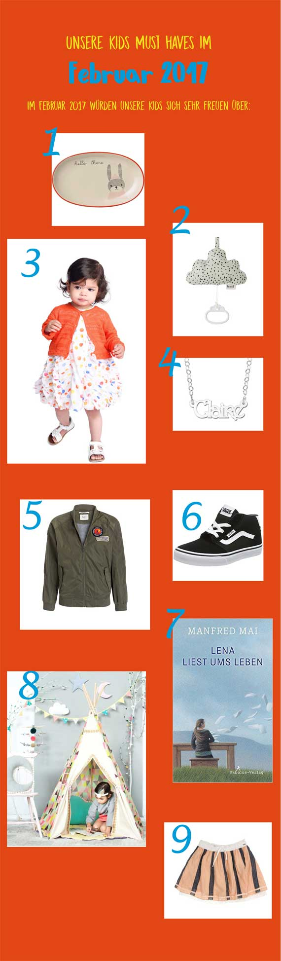 Must haves Kindermode
