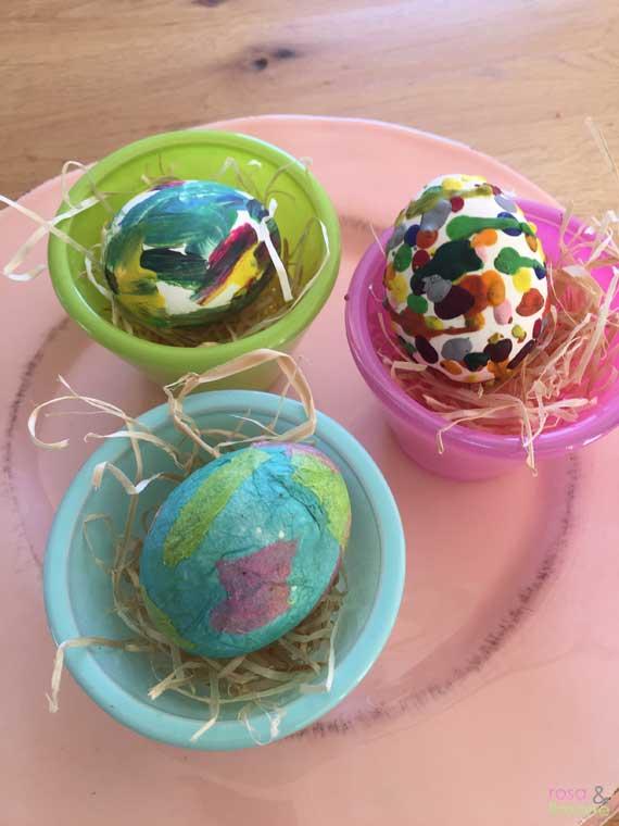 Osterdeko-Eier