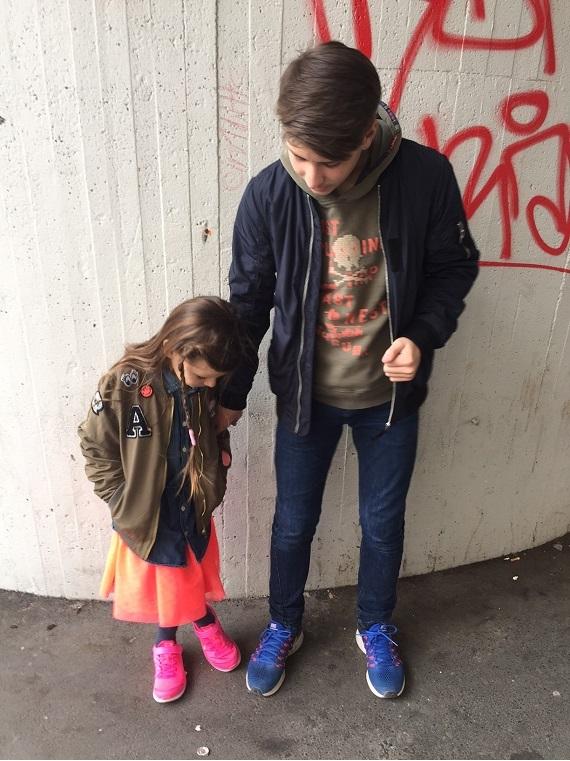 Schuhe anschauen Kindermode