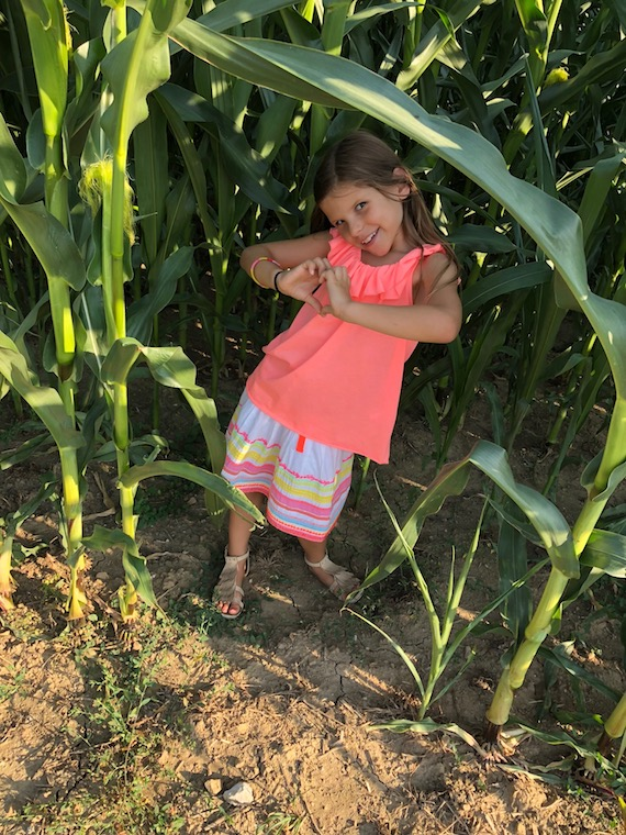 Lina im Maisfeld Kindermode 4