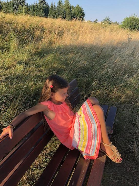 Lina im Maisfeld Kindermode 7