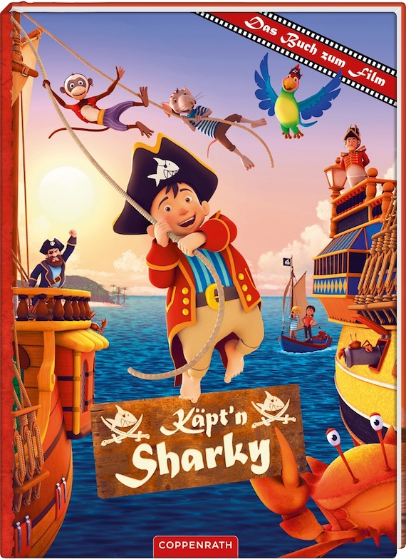 Käpt'n Sharky_Buch zum Film
