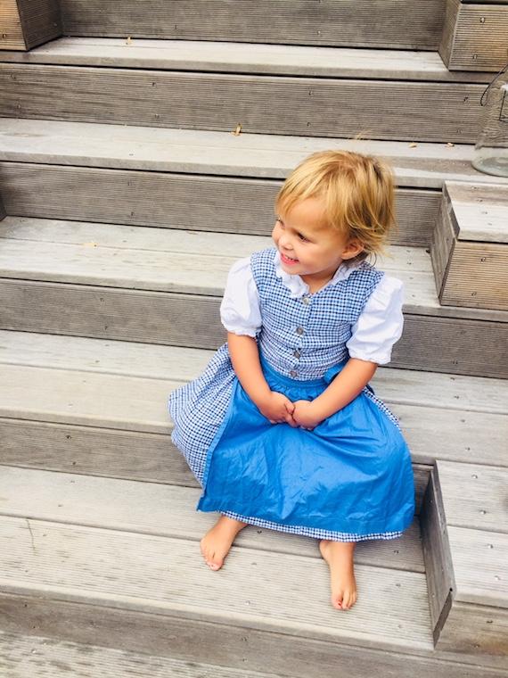 Kinderdirndl Mail Kleinkind 2