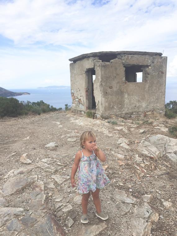 Festung mit Carlotta