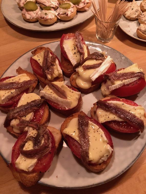 Camembert Sardellen Cicchetti