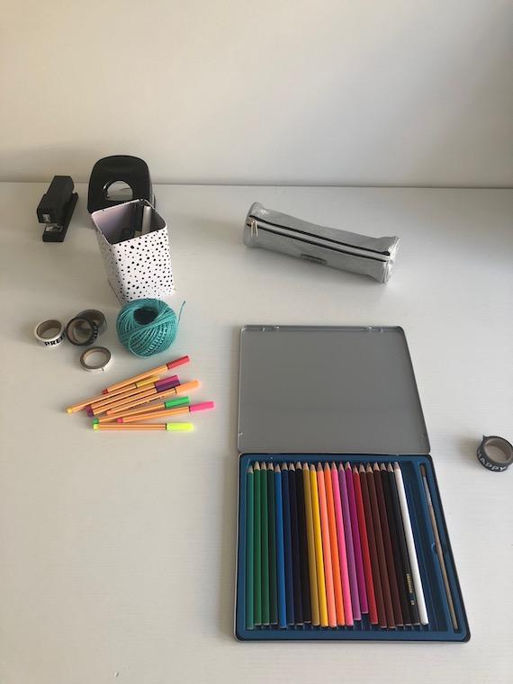 Arbeitszimmer Materialien 2