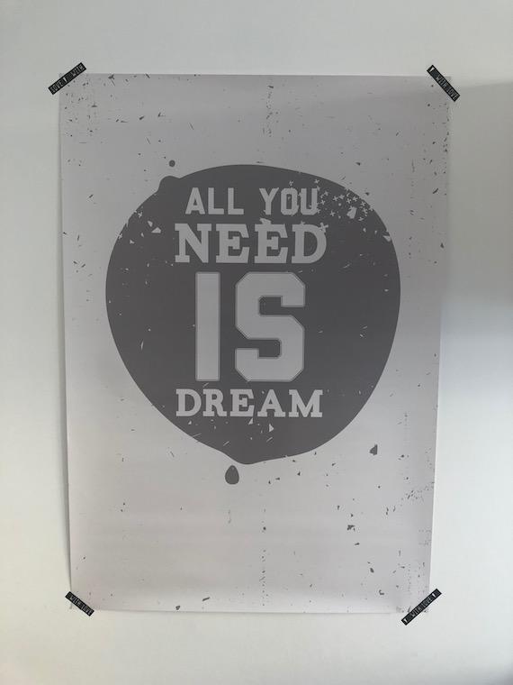 Arbeitszimmer Poster