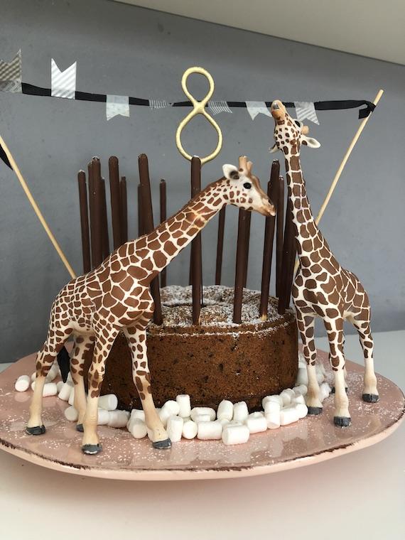 Giraffen Kindergeburtstagskuchen