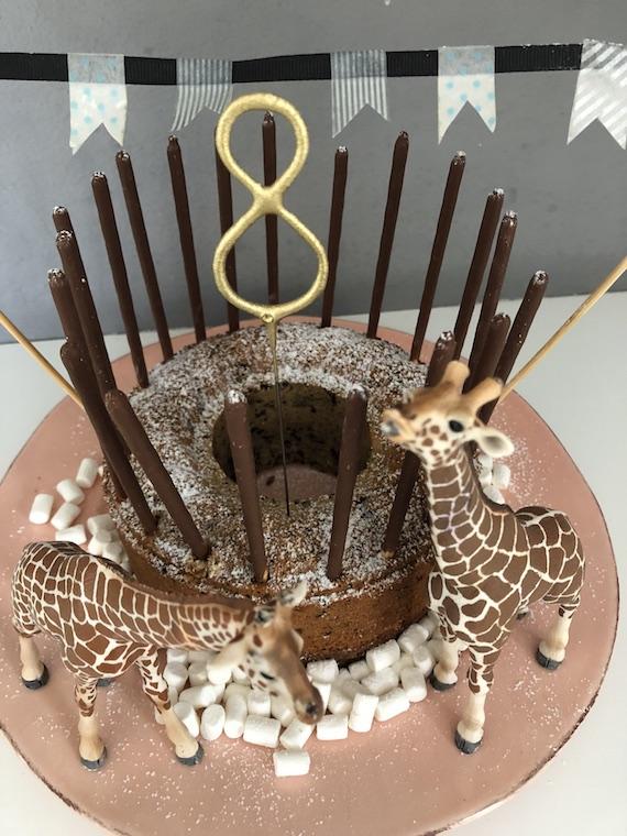 Giraffen Kindergeburtstagskuchen 2