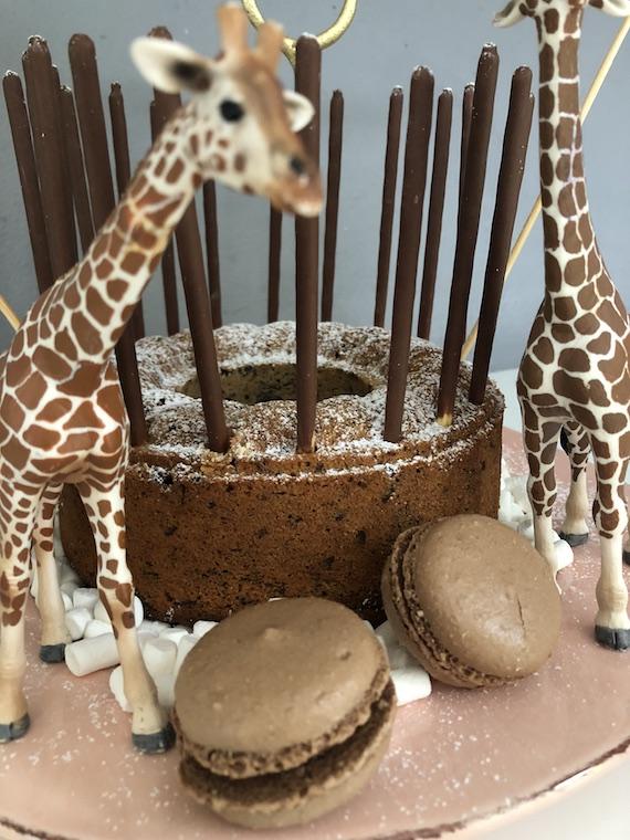 Giraffen Kindergeburtstagskuchen 3