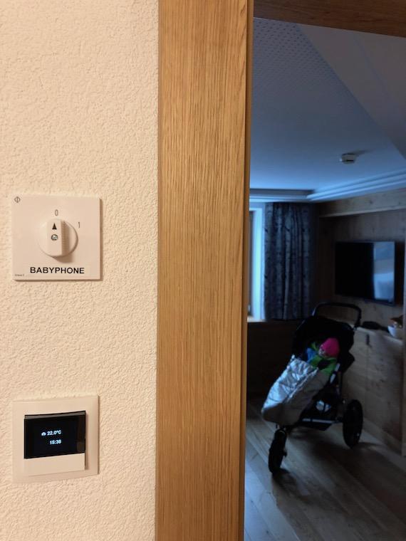 Hotel Loewe Serfaus Babyphone