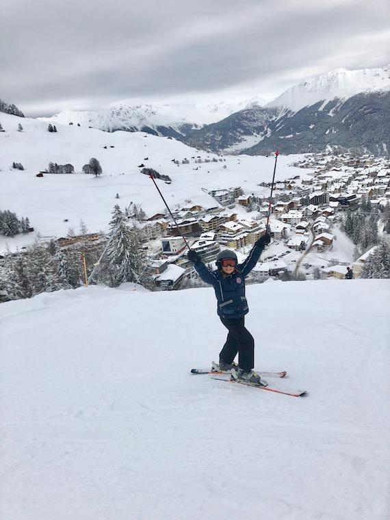 Skifahren Serfaus Louisa