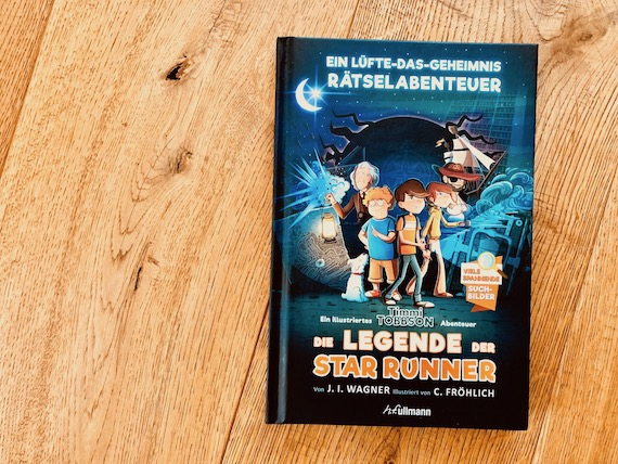 Jugendbuch Tipps Mädchen Sommerferien die Legende der Star Runner