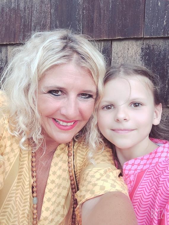 Mama und Tochter Partnerlook